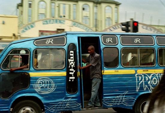 Bus in Nairobi Kenya