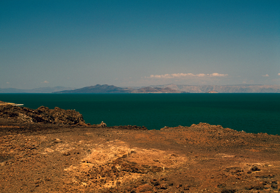 Lake Turkana is the largest alkaline lake in the world