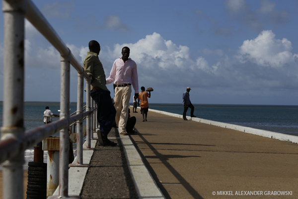 Pier in Malindi