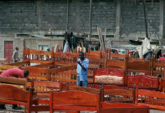 Selling beds in Nairobi