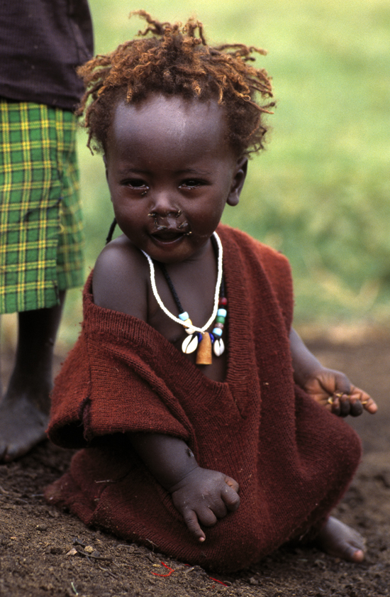 Little Masai girl