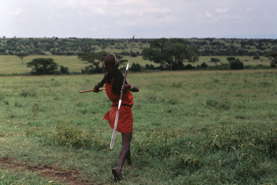 2020 Other   Images: African Warrior With Spear