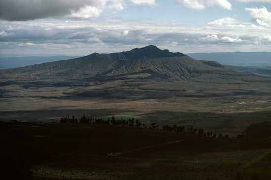 Mount Lononot, a volcano in Great Rift Valley