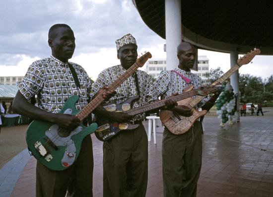 Musicians in Kisumu
