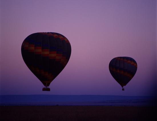Hot air balloons Masai Mara