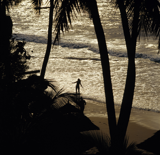 Diani beach is perfect for relaxation
