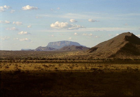 Landscape Samburu Northern Frontier District