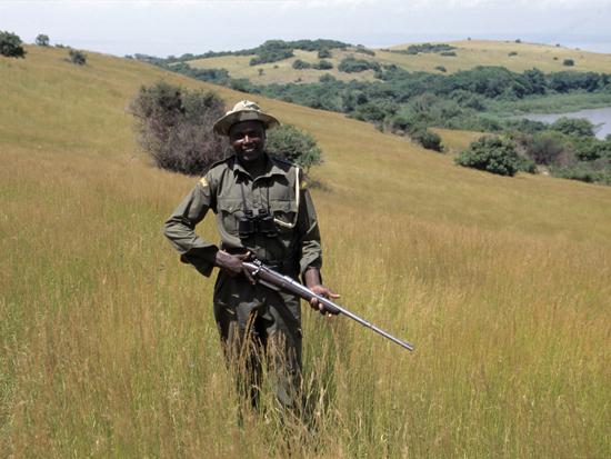 Park Ranger on Ndere island
