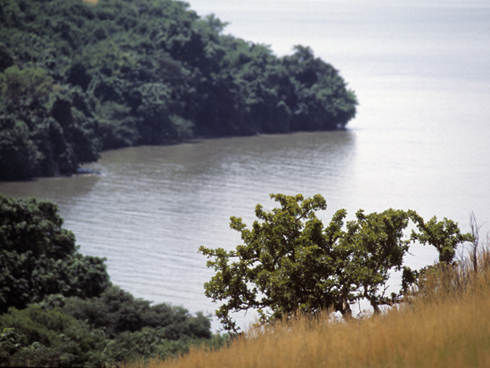 View from Ndere Island