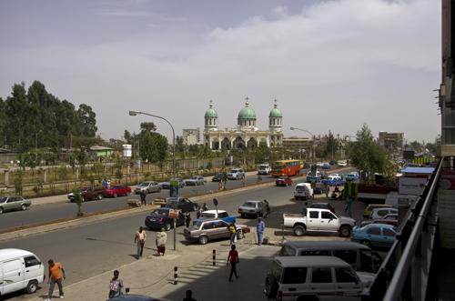 Big church in Addis Ababa