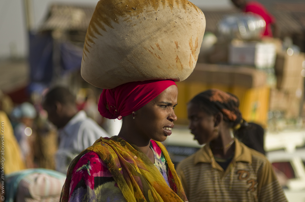 Woman in Harar Ethiopia