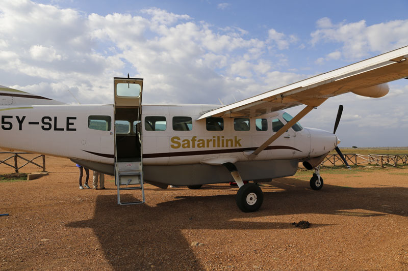 Safarilink flies between Nairobi, Naivasha and Masa Mara