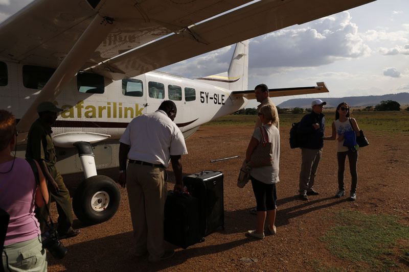 Safarilink flies between Nairobi, Naivasha and Masa Mara as well as to other destinations in Kenya
