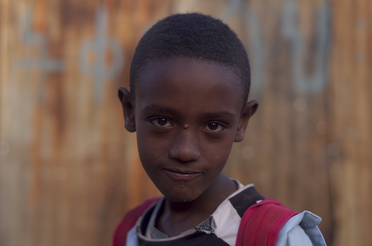 Boy in Harar