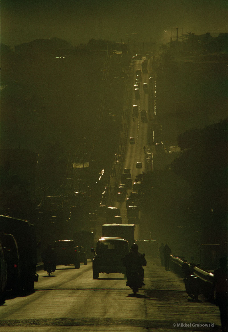 Road in kampala - photo © Mikkel Grabowski