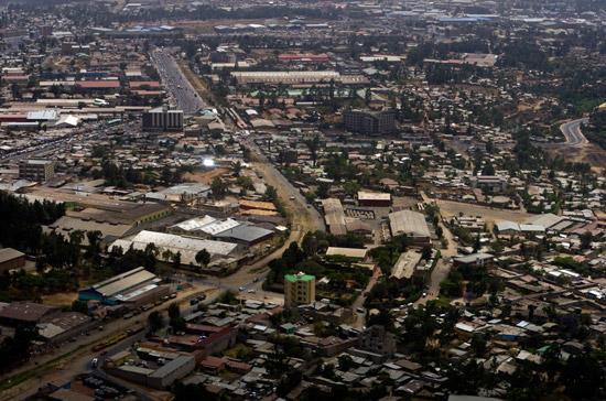 Addis Ababa the Capital of Ethiopia