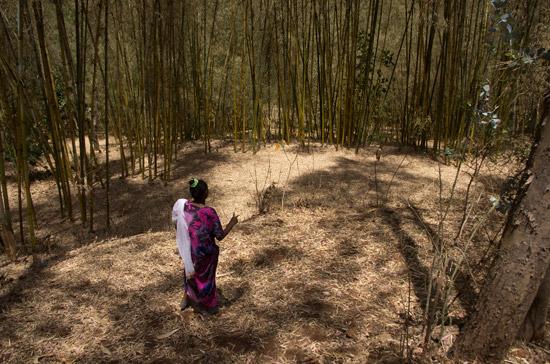 A woman in Dorze village
