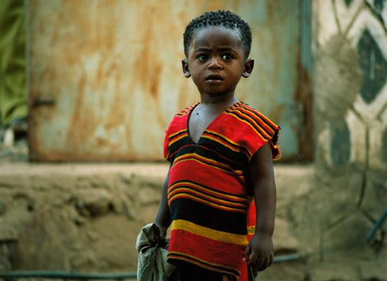 A boy in Jinka Ethiopia