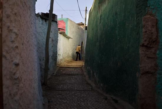 Man in Harar Ethiopia