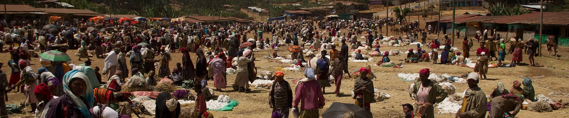 Market in Chencha