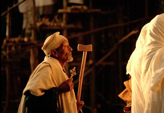 Timkat celebration in Gondar, Ethiopia