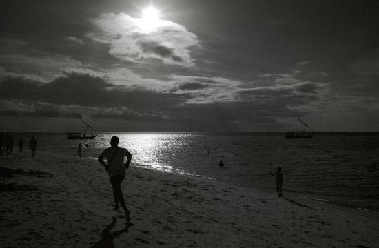 Unguja Zanzibar jogging
