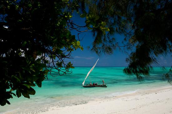 Unguja Zanzibar boat sea